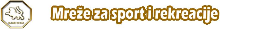 Mreže za Sport i Rekreacije